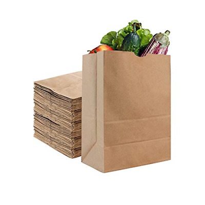 Stock Your Home 52 Lb Kraft Brown Paper Bags 50 Count - Kraft Brown Paper Bags -