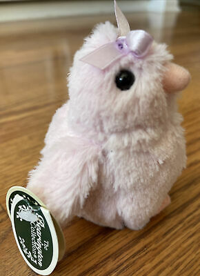 """The Bearington Collection Collectible Plush Easter Chick 4/"""" Mini Quacks Sound for sale online"""