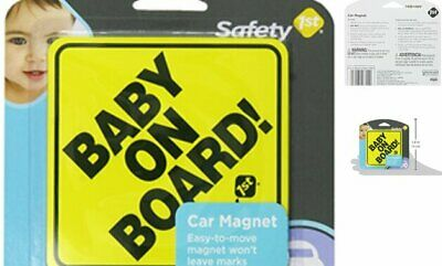 Baby On Board Sign Magnet