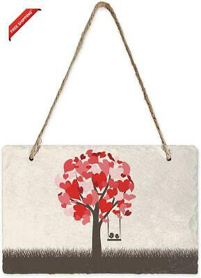 Meet 1998 Wood Sign Hanging Board Valentine'S Day Reversible Double-Sided Sign P