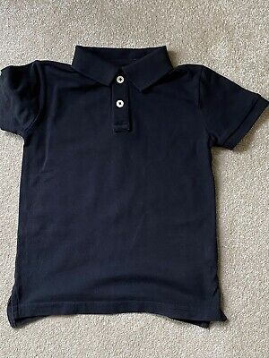 BOYS ZARA  BLACK POLO SHIRT AGE 3-4 Years