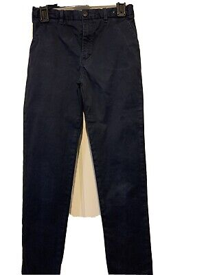 Boys Blue Trousers Age 13 River Island VG Condition