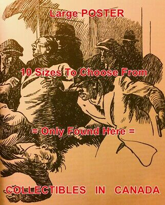 """DOC SAVAGE 1976 Fight EARTH WRECKERS =POSTER Comic Book Artwork 10SIZES17/""""-4.5FT"""
