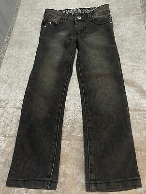 Girls Candy Couture Jeans Age 6 Years Diamanté Matalan VGC Adjustable Waist