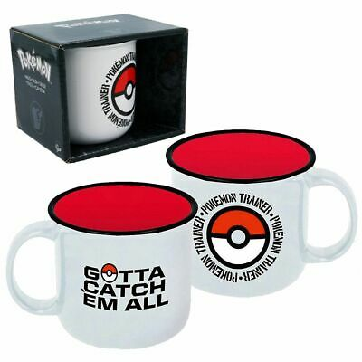 Tasse Pokemon Trainer | Pokémon | 400 ml | Keramik | In Geschenkbox