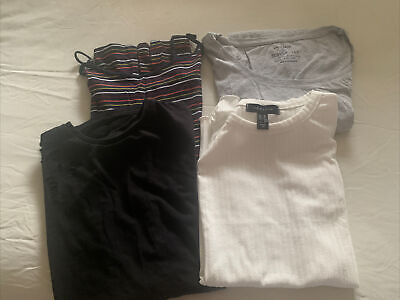 Girls/ladies Xs And Small Tops And Skirt Bundle Primark New Look Zara Pilot