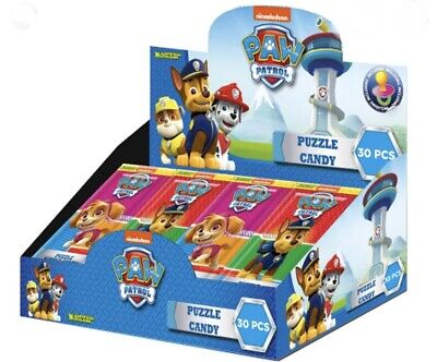 Official Paw Patrol Puzzle Candy 30 Packets In A Box Party Bags Wholesale sweets
