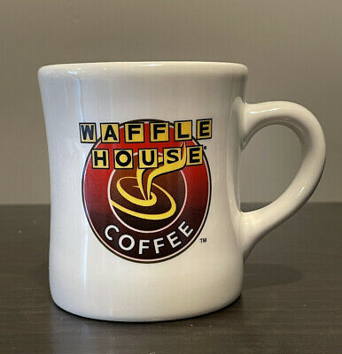 Waffle House Coffee Mug Tea Cup Tuxton Restaurant Ware Diner 8 oz