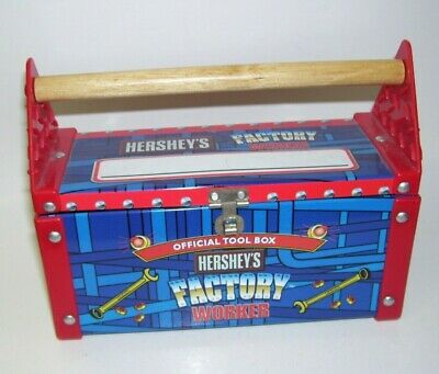 Tin Box Hershey's Factory Official Tool Box