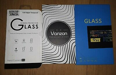 Samsung Galaxy Tempered Glass Screen Protectors Lot of 3
