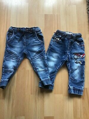 2 pairs boys Next jeans age 12-18 months