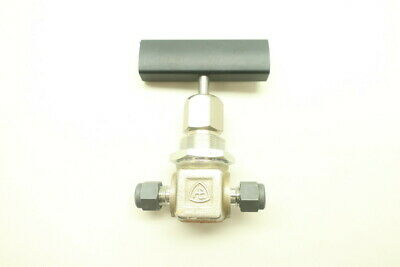 Autoclave Engineers 301A-0042 Manual Needle Valve 1/4in Tube