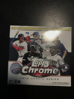 2020 Topps Chrome Update Series MLB Baseball Mega Box, New Factory Sealed