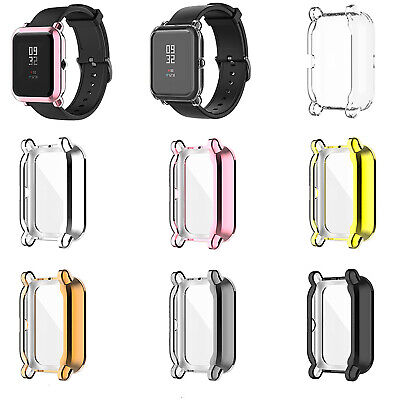 For Huami Amazfit GTS2 Mini/Pop ProElectroplating TPU Watch Case Cover Frame