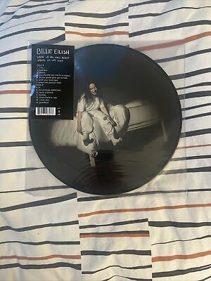 Billie Eilish When We All Fall Asleep, Where Do We Go? Rare Spotify Picture Disc