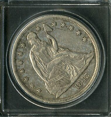 US Coin 1843 Seated Liberty Silver Dollar NO RESERVE!