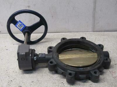 """Nibco LD2000 8"""" Buterfly Valve Ductile Iron Wafer Style 200 PSI"""