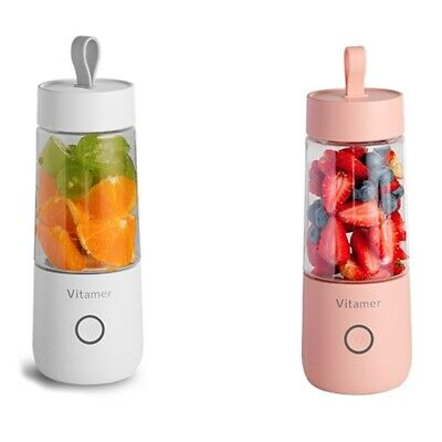 350Ml Mini Portable Electric Fruit Juicer Rechargeable Smoothie Maker Blender M