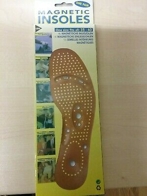 One Pair Of Magnetic Insoles