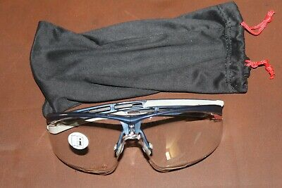 HONEYWELL NORTH T5900LBL Safety Glasses,Clear, Anti-Static (NEW)