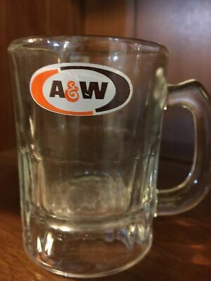A&W Vintage root beer mini mug  With A&W logo