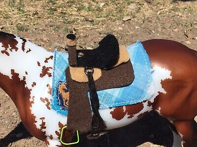 Traditional Breyer Horse Saddle (HandMade to help fund my first horse)