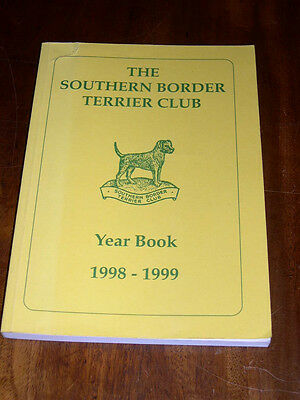 "Rare Dog Book ""The Southern Border Terrier Club Yearbook 1998-1999"" Illustrated"