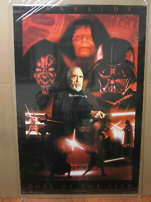 Star Wars Episode II - Darkside – Duel of the Sith - #2585 collectable poster