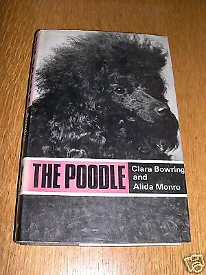 POODLE DOG BOOK by BOWRING & MONRO 1968