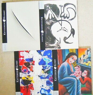 Ketterer Kunst. Auction Catalogues. Glossy High Quality Art  x4 mags