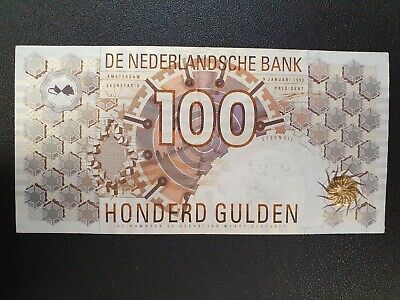 1992 Netherlands 100 gulden