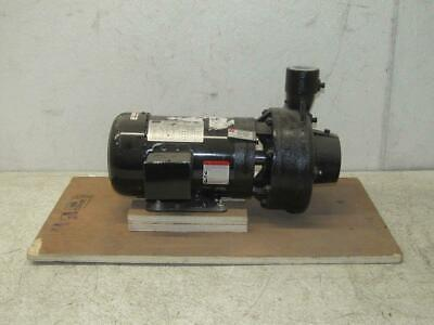 Dayton LTBF23TCE Totally Enclosed Fan-Cooled Centrifugal Pump 2HP 208-230V