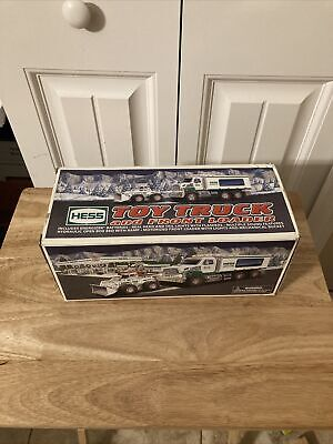 Hess 2008 Truck And Front Loader Mint Condition Never Used Original Box