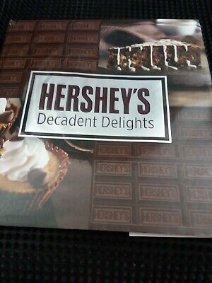 124 Page Hershey's Decadent Delights Cooking Desert Book