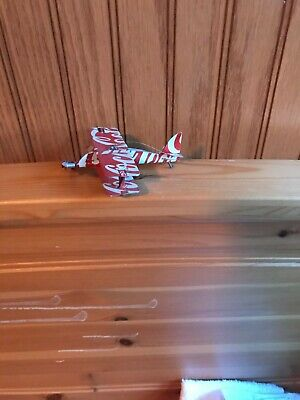 Small Airplane Made Out Of Coca Cola Can - Handmade