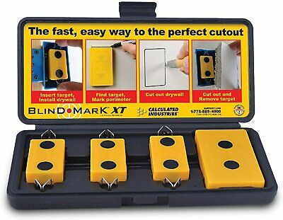 Calculated Industries 8105 Blind Mark Drywall Electrical Box Cutout Tool –