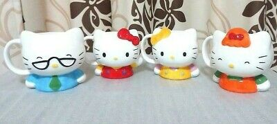 Sanrio Hello Kitty Family Mug Cup Set Retro