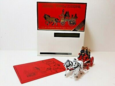 Matchbox Models of Yesteryear 1991 YS46 1880 MERRYWEATHER Fire Engine Horses
