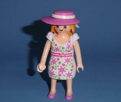 ETHNIC FASHION LADY FIGURE with REMOVABLE RED DRESS Playmobil