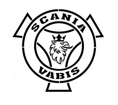 SC-1 Scania Camion Logo V8 Griffin moteur A5 A4 T Pochoirs Voiture Racing Motor