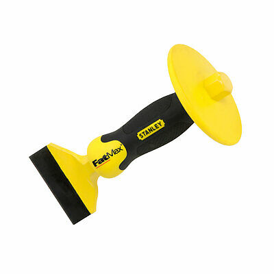 Stanley Fatmax 1 Inch Bolster Chisel With Guard 1in x 12in STA418332 4-18-332