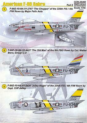 Bestfong Decals 1//72 NORTH AMERICAN F-86F SABRE Republic of China Part 2