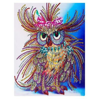 5D DIY Special Shaped Diamond Painting Bird Cross Stitch Embroidery Mosaic $S1