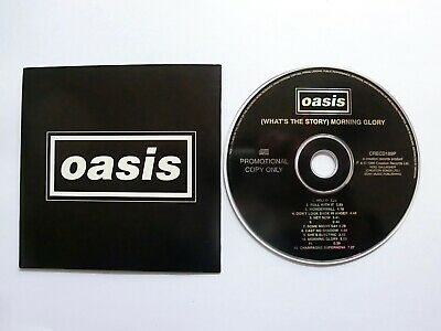 Oasis (What's The Story) Morning Glory album 12-track PROMO CD, 1995