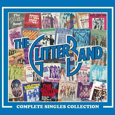 The Glitter Band : Complete Singles Collection CD Box Set 3 discs (2021)