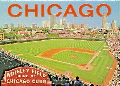Wrigley Field, Home of Chicago Cubs Major League Baseball, Chicago, Illinois