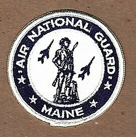 MAINE AIR NATIONAL GUARD PATCH