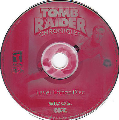 Tomb Raider CHRONICLES Eidos PC Game NEW 2x CDRom Set