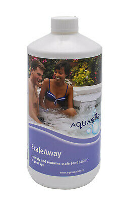 Aquasparkle No Scale for Spas Hot Tub Hot tubs Spa Remover Away Remove Protect
