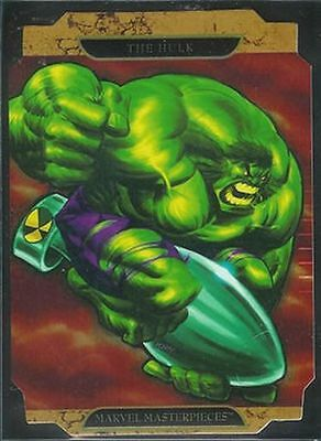 Marvel Masterpieces 2 FOIL Hulk A Chase Card